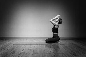 Fersensitz Yoga